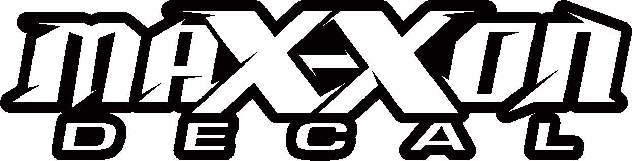 MAX-XON Decal